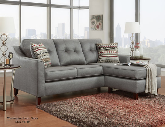 CHARCOAL SECTIONAL