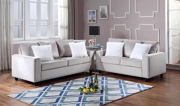 Queens Grey Living Room