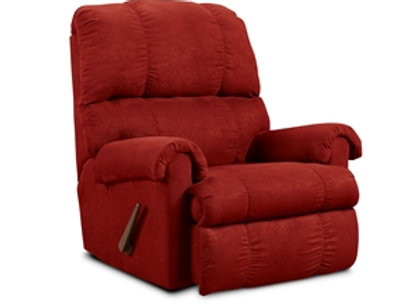 PROMO RED RECLINER