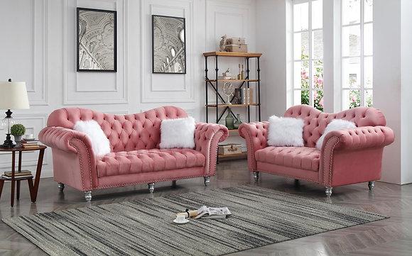 Amity Pink Sofa, Love