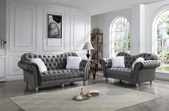 Royal Grey Sofa,Love