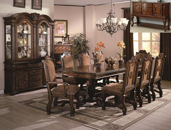 Neo Renaissance 5pc Formal Dining Set