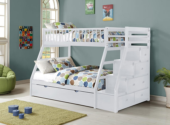 Twin Over Full Wood Bunkbed