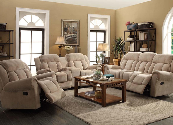 TEDDY 2 PC RECLING SOFA,LOVE