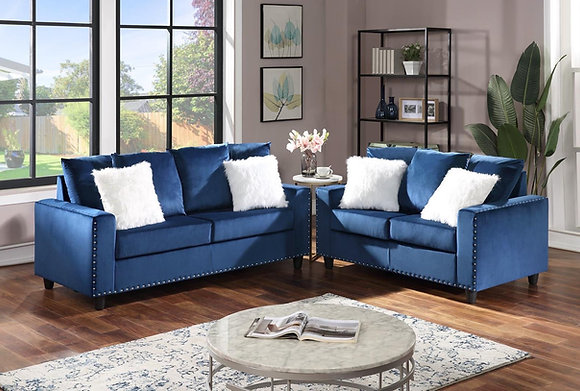 Royal Blue Sofa,Love