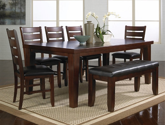 Barstow Brown 5pc Dining Group
