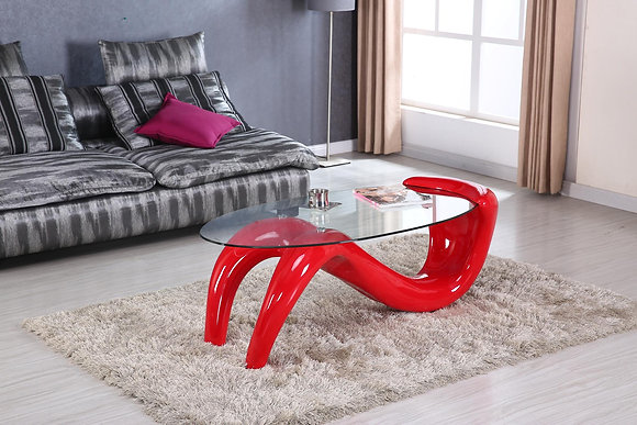 Ruby Red Coffee Table Only