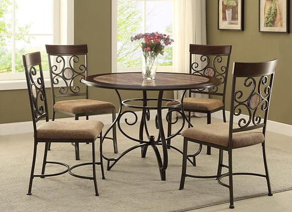 Sarah 5pc Dining Set