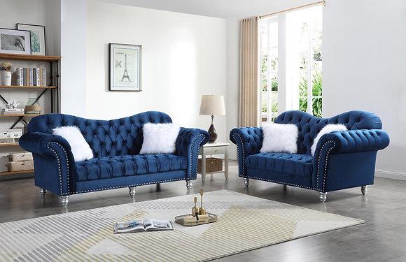 Royal Blue Sofa, Love