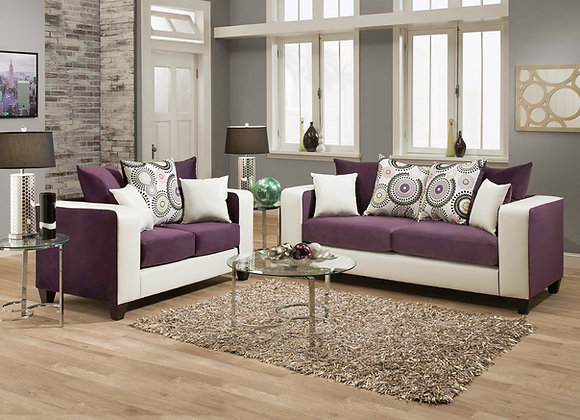 ST LOUIS 2PC SOFA,LOVE