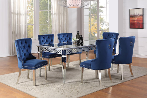 Velik Royal Blue 6pc Dining
