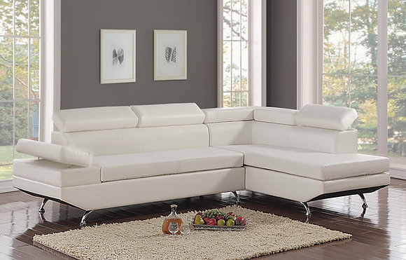 CISCO WHITE SECTIONAL
