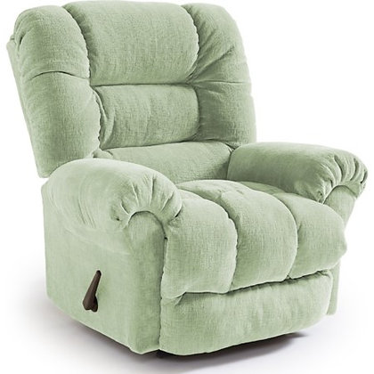 Lime Green Manual Recliner