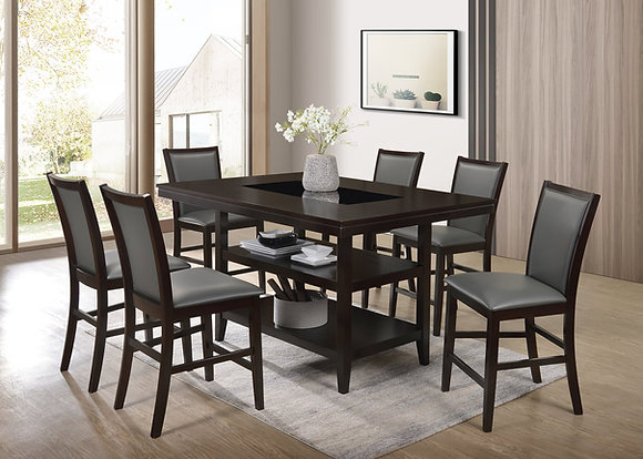 London Brown 5pc Dining Group
