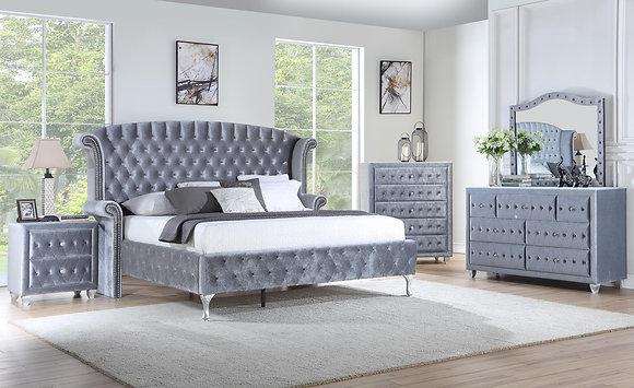Royal Grey Bedroom