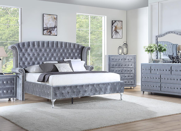 Royal Grey Bedroom
