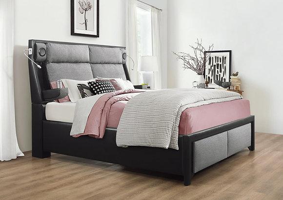 Tuam Charcoal Bed