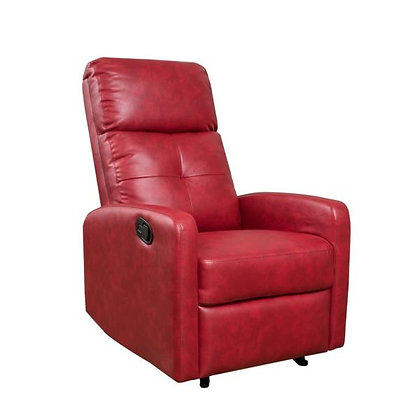 Berling Red Manual Recliner