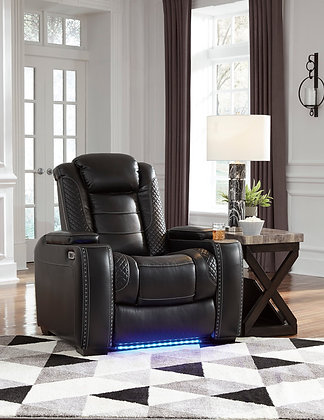 Retro Led Power Recliner