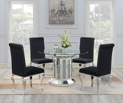 Luxury II 5pc Dining Group