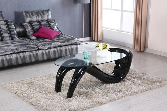 Midnight Black Coffee Table