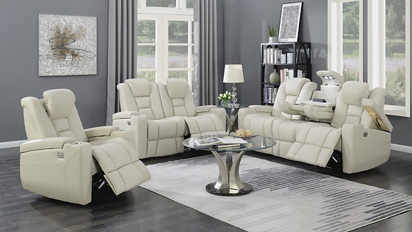 JEFFERSON 2 PC RECLINIG SOFA,LOVE