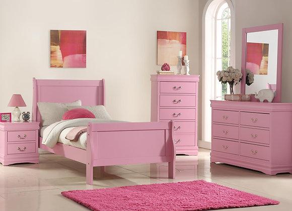 PINK TWIN BEDROOM