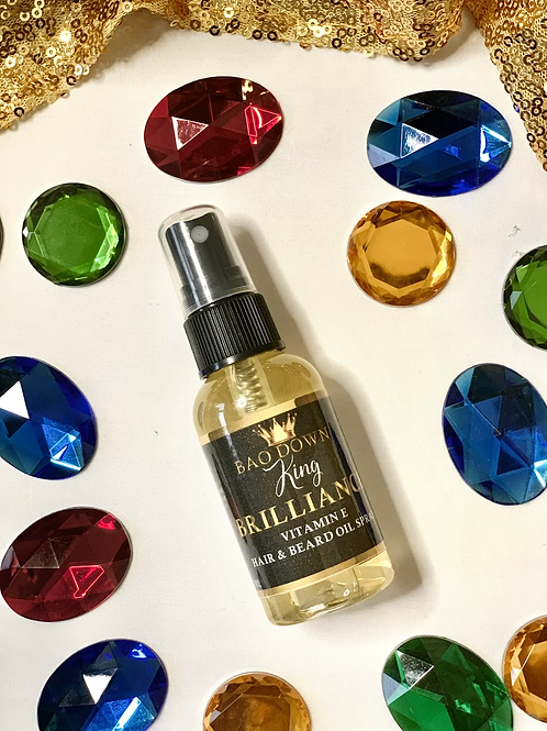 Brilliance vitamin E spray