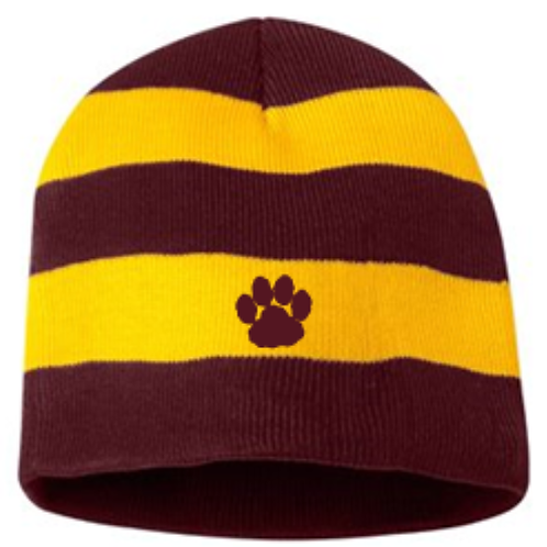 Bobcat Beanie and Scarf
