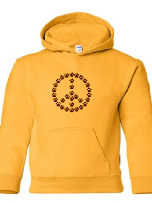 Paw Peace Pullover Hoodie