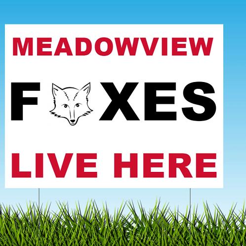 FOX Sign