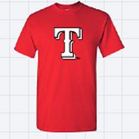 """Rangers """"T"""" Shirt (Long/Short Sleeve)"""