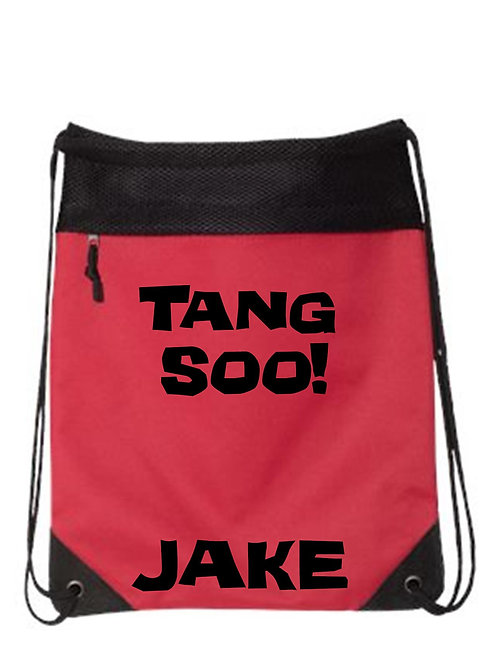 Tang Soo Drawstring Backpack