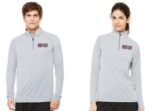 Embroidered 1/4 Zip Performance Pullover
