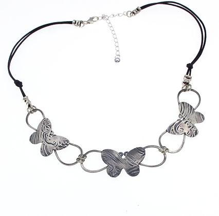N-2026 A Silver Wisp of Butterflies
