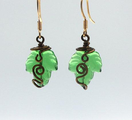 E-1545  Elvish Earrings