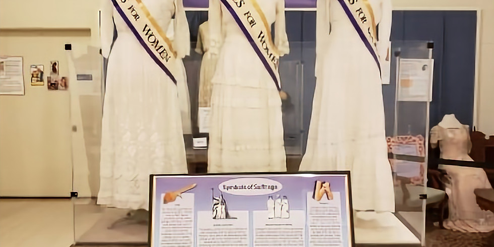Suffrage Gala, Social, Dinner & Entertainment - 5:00 pm to 9:00 pm