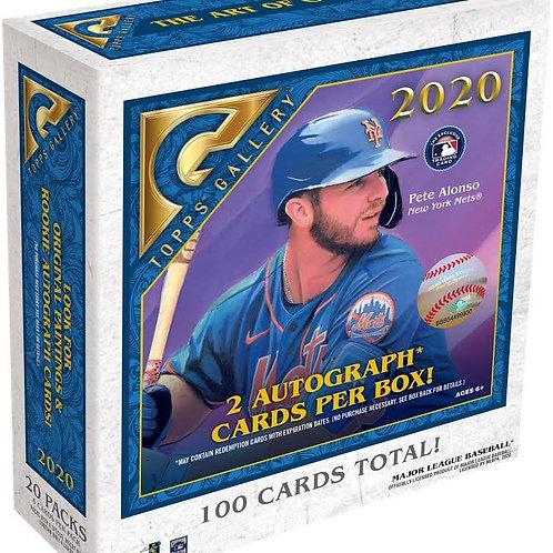 MLB 2020 TOPPS GALLERY Baseball box #BoBichette #Topps #MayumiSeto