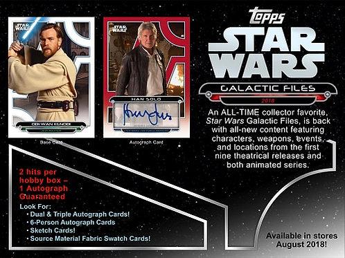 映画トレカ 2018 Topps Star Wars Galactic Files #スターウォーズ
