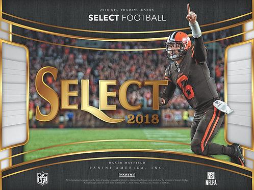 NFL 2018 PANINI SELECT box #Football #アメフト #NFL
