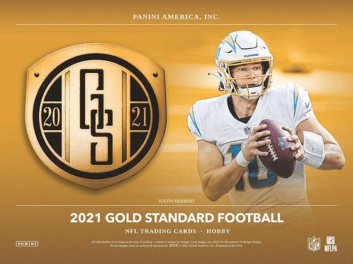 NFL 2021 PANINI GOLD STANDARD Hobby box #Football #アメフト #NFL