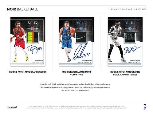NBA 2018-19 Panini NOIR Basketball case 4box #バスケカード #NBA #Doncic #Young #kicks