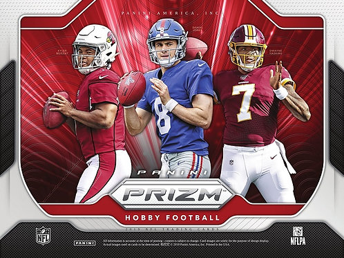 NFL 2019 PANINI PRIZM Hobby box #Football #アメフト #NFL #パニーニ