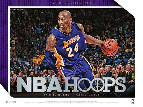 NBA 2018-19 Panini HOOPS Basketball box #バスケカード #NBA