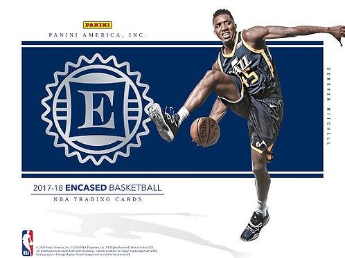 NBA 2017-18 Panini ENCASED Basketball