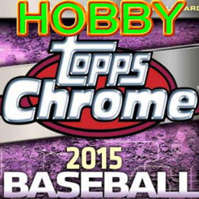 MLB 2015 Topps CHROME HOBBY BOX #KRISBRYANT