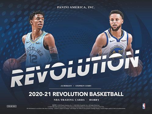 NBA 2020-21 Panini REVOLUTION Hobby box #NBA #LameloBall #Panini