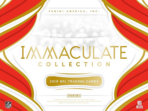 NFL 2019 PANINI IMMACULATE box #Football #アメフト #NFL #パニーニ