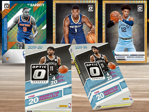 NBA 2019-20 Panini OPTIC China Pack #NBA #ZIONWILLIAMSON #八村塁 #JaMorant
