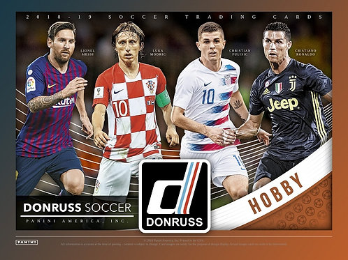 SOCCER 2018-19 PANINI DONRUSS box #パニーニ #Panini #Soccer #JadonSancho